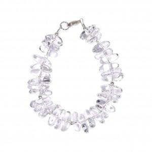 Bracelet Sunny - Cristal de roche et Argent 925 EDENDROPS