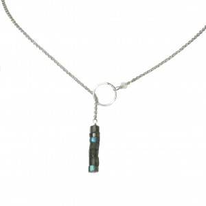 Collier cravate Labradorite
