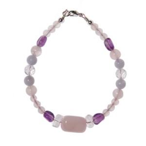 Bracelet Touche de lavande 2 N° 1 - 18,5 cm *vendu*