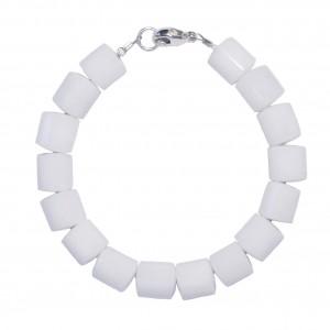 Bracelet Homme Quartz blanc
